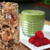 Cinnamon Cherry Oil-Free Granola