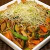 Veggie Stir Fry w/Peanut Sauce (Vegan, Oil-Free, GF)