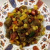 Chickpea and Eggplant Curry (Oil-free)