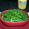 Garlicky Dijon Kale (Oil-free)
