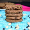 Peanut Butter Chocolate Chip Cookies (GF, Oil-free)