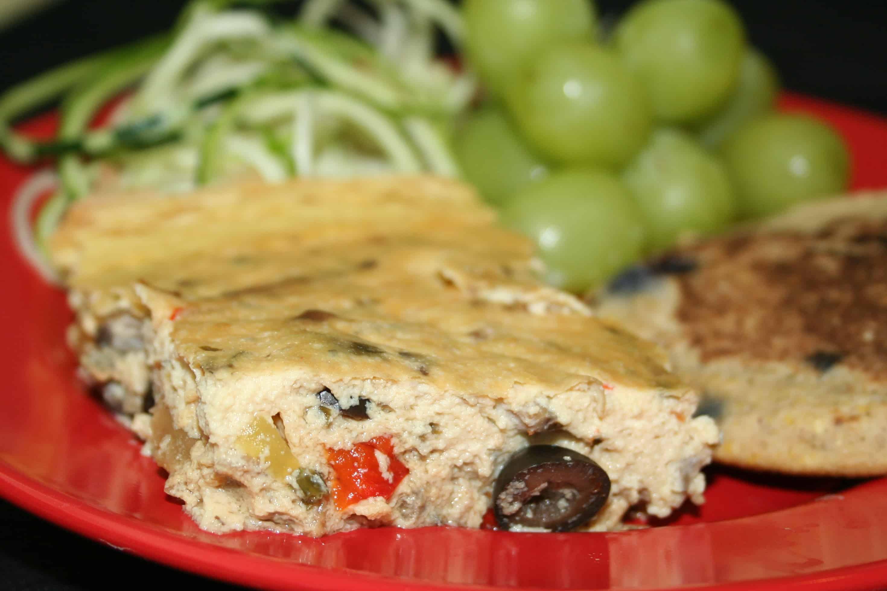 Savory Tofu Quiche - Plantivores