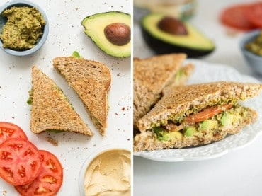 Oh She Glows' Ultimate 4-Layer Vegan Sandwich