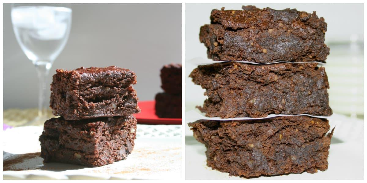 Vegan Brownies (Gluten-free, Oil-free) - Plantivores